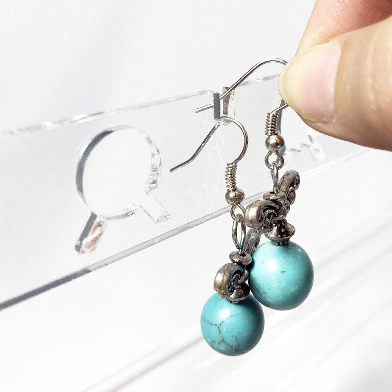 Jewellery Stand Designs : Ebern designs acrylic eiffel tower jewelry stand wayfair