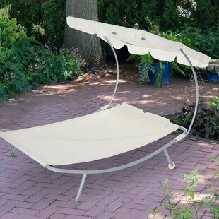 Junious Sturdy Double Hanging Chaise Lounger by Freeport Park