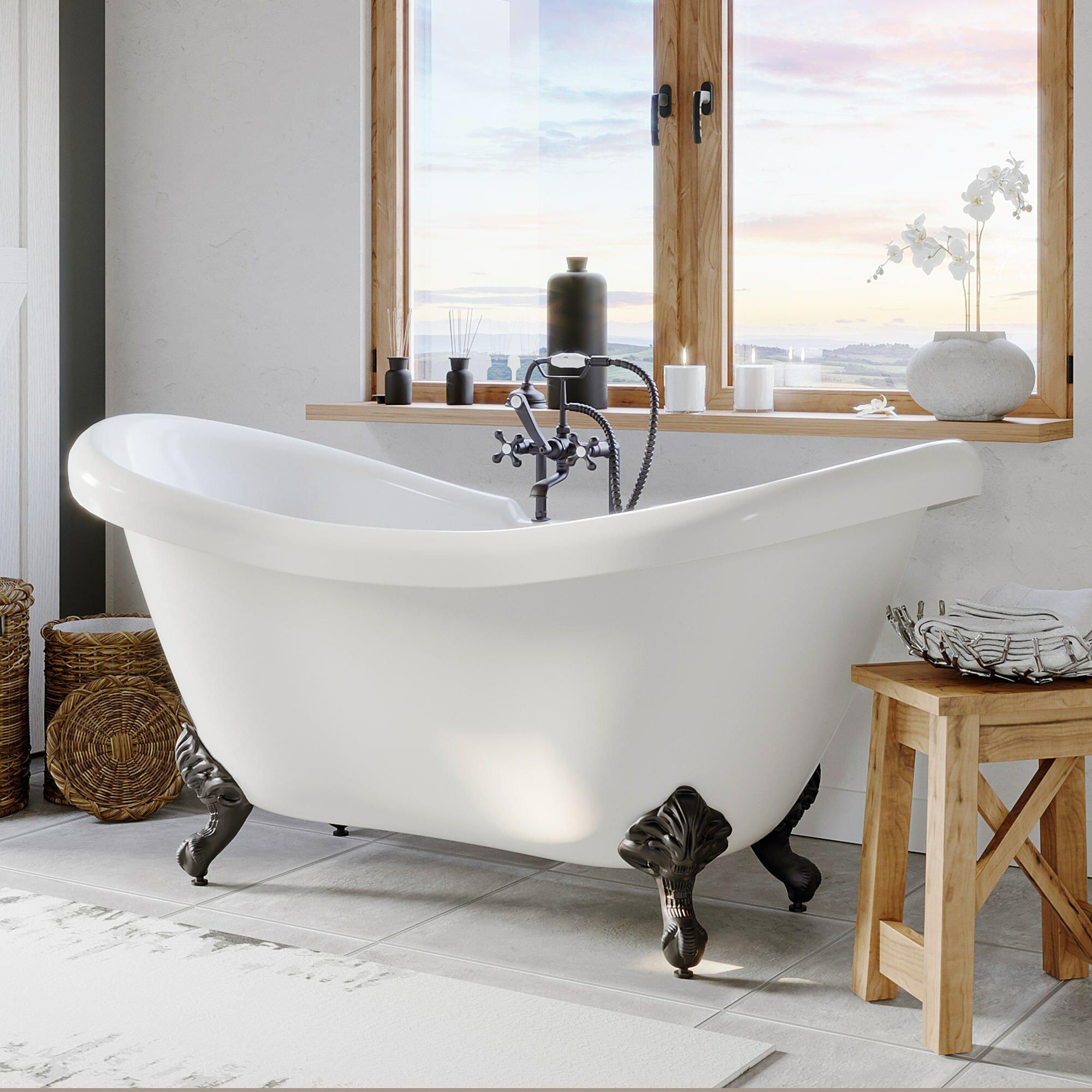 Cambridge Plumbing None 69 X 29 Clawfoot Bathtub Reviews Wayfair