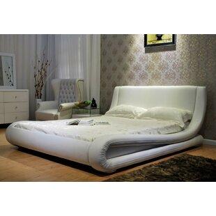 Wade Logan Leavitt Upholstered Platform Bed