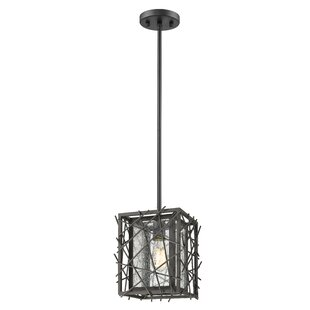 Gile 1-Light Square/Rectangle Pendant by Ivy Bronx