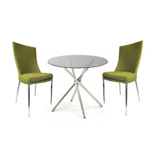 Figueroa 3 Piece Bistro Set by Orren Ellis