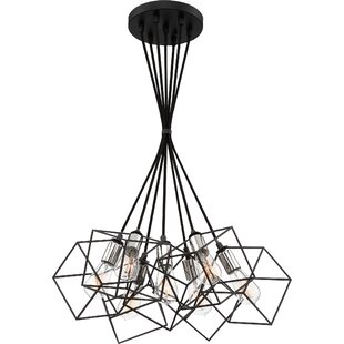 Theodorus 7-Light Cluster Pendant by Wrought Studio