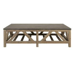 Silas Slatted Wooden Coffee Table by Foundry Select Savings