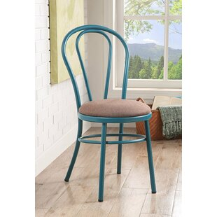 Mullin Round Dining Chair (Set of 2) August Grove