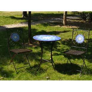 Vernell 3 Piece Bistro Set by Bloomsbury ..