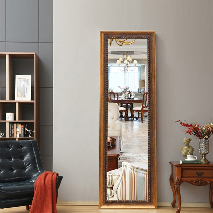 Boddie Full Length Mirror, Leaning Mirror, Floor Mirror, Dressing Mirror,  Wall-Mounted Mirror for Living Room/Bedroom/Cloakroom Hanging Leaning ...