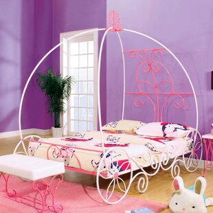 Guyette Princess-Style Canopy Bed by Harriet Bee