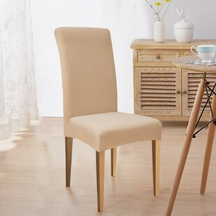 Box Cushion Dining Chair Slipcover (Set of 6)