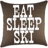 Eat Sleep Ski Wayfair