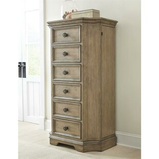 One Allium Way Paredes 6 Drawer Lingerie Chest