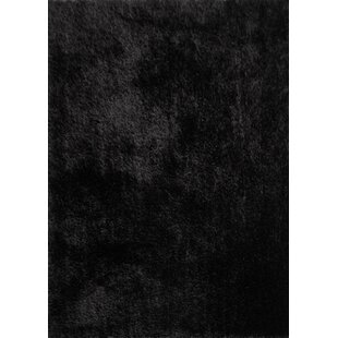 Find for Marcello Hand-Tufted Black Area Rug ByLatitude Run