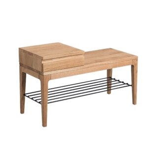 Dornfelder Wood Storage Bench By Ebern Designs