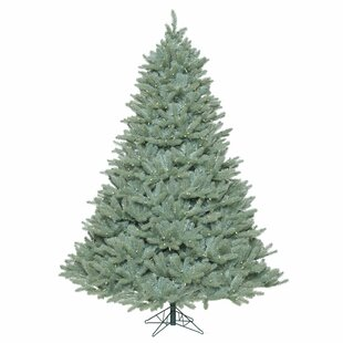 65 blue spruce artificial christmas tree with 850 warm white led lights - Blue Spruce Artificial Christmas Tree