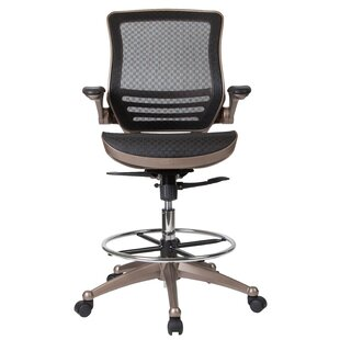 Mignone Ergonomic Mesh Drafting Chair by Ebern Designs