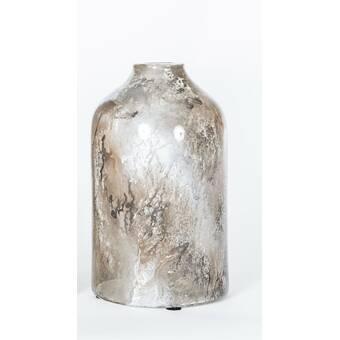 Prima Design Source Watson Brown Gray Glass Table Vase Perigold