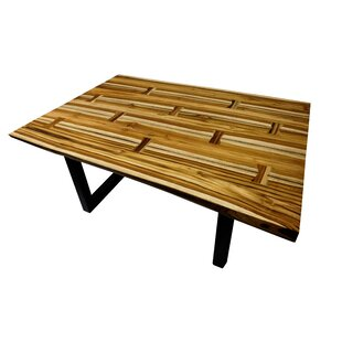 Loon Peak Rigney Live Teak Coffee Table