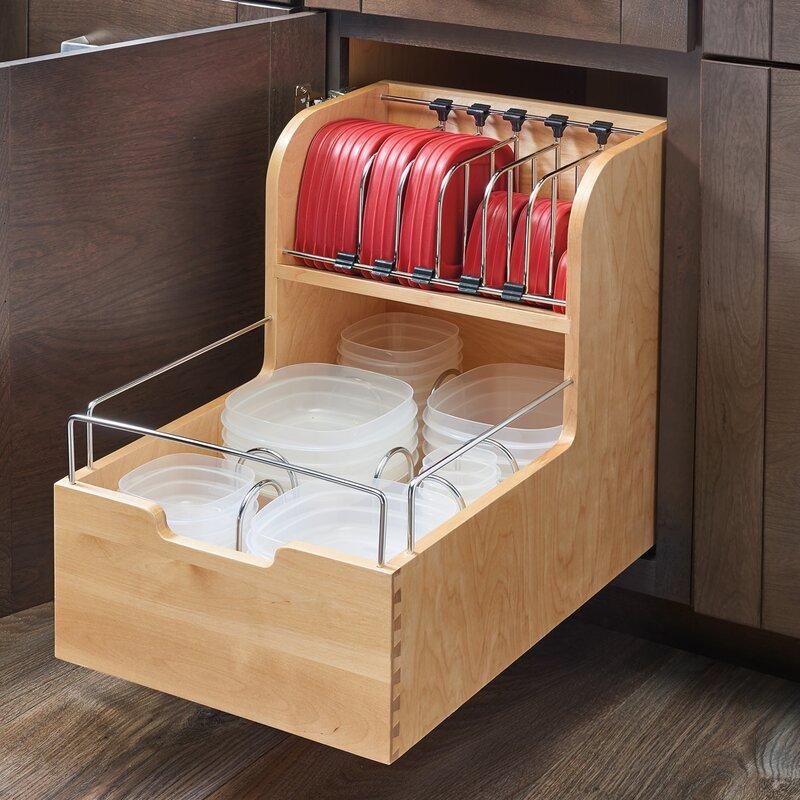 Food Storage Pull Out Drawer Rev A Shelf Food
