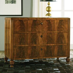 Italian 3 Drawer Chest by Modern History Home