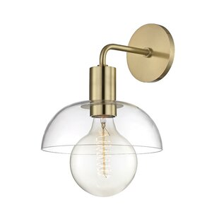 Buying Jerez 1-Light Armed Wall Sconce By Brayden Studio
