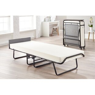 Visitor Folding Bed with Memory Foam Mattress by JayBe