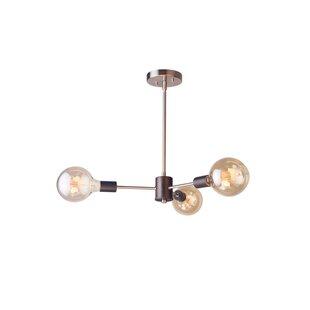 Woodbridge Lighting Ethan 3-Light Sputnik Chandelier