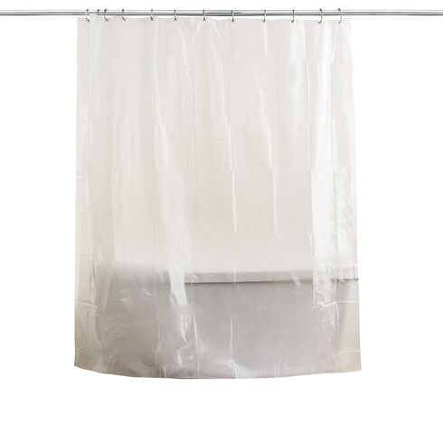 Splash Home Anti Mildew Shower Curtain Liner | Wayfair