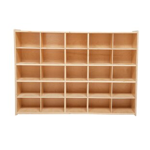 Contender 25 Compartment Cubby by Wood Designs