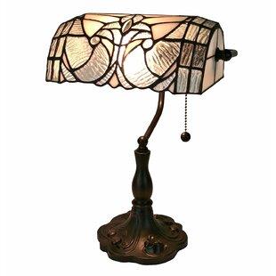 Price comparison Floral Banker 13 Desk Lamp By Amora Lighting