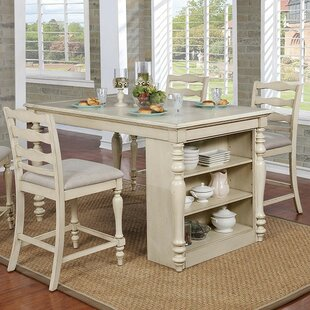Ford 5 Piece Counter Height Dining Set Rosecliff Heights