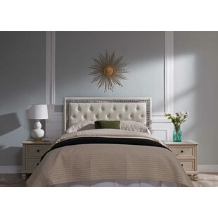 Mcmorris Diamond Upholstered Panel Headboard
