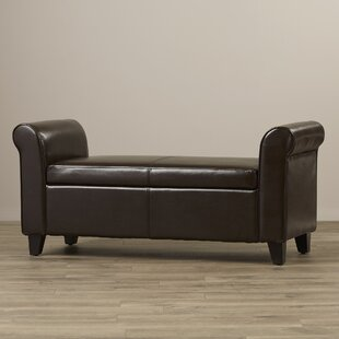 Stewardson Upholstered Storage Bench by Red Barrel Studio