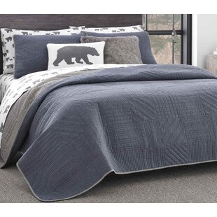 Hidden Lake Reversible Quilt Set