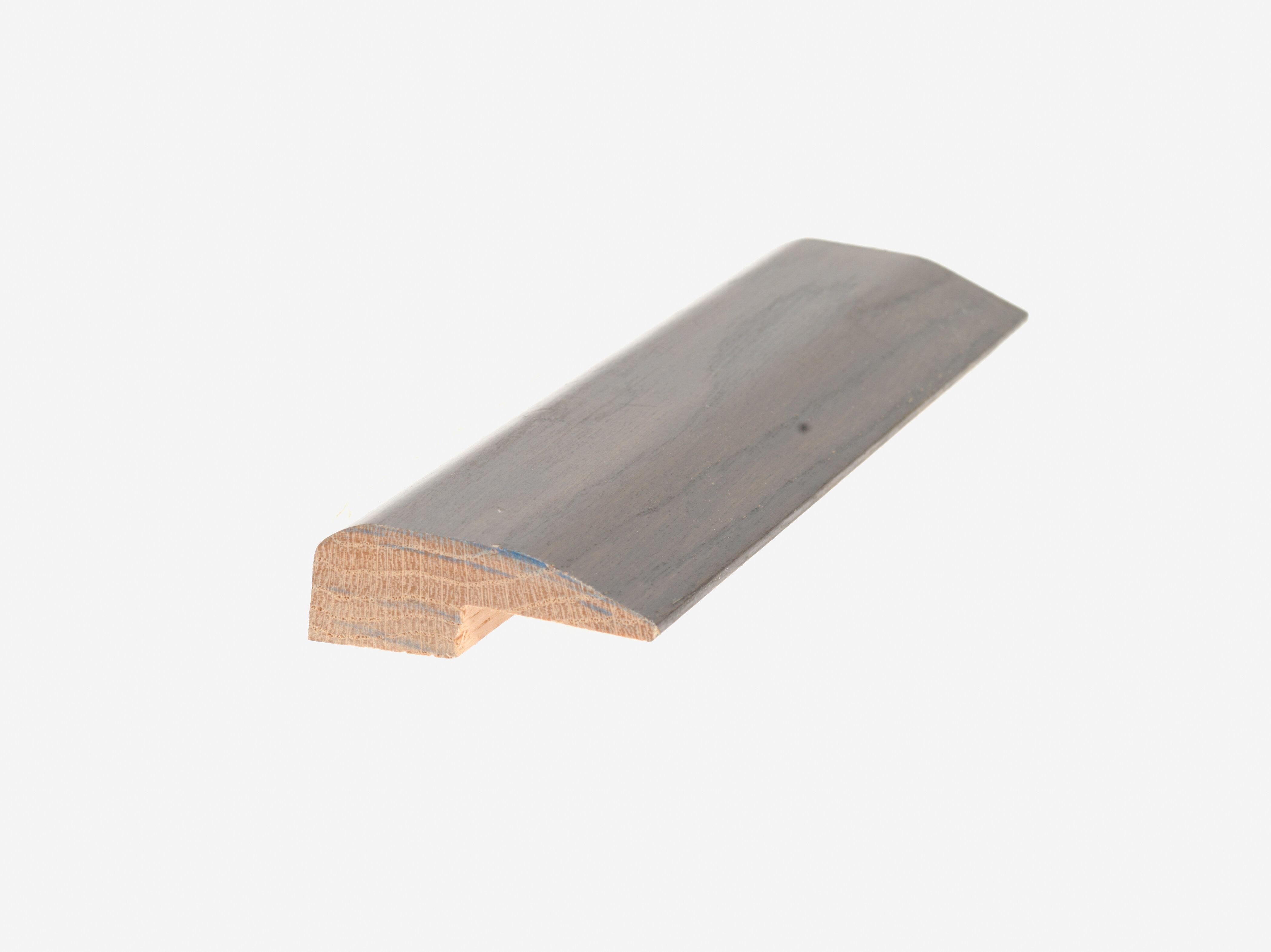 Mohawk Oak Wood 0 78 Thick X 2 Wide X 84 Length Threshold End Cap In Oak Shale Wayfair