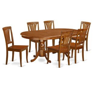 Germantown 7 Piece Extendable Solid Wood Dining Set
