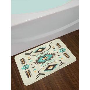Ethnic Pattern Southwestern Bath Rug