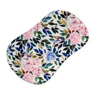 Great Price Barbeau Rose Garden Bassinet Bedding Sheet ByHarriet Bee