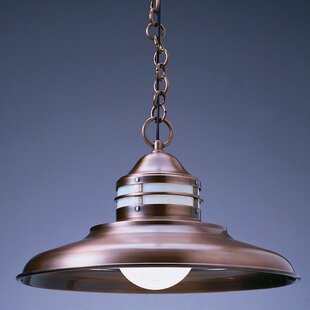 Bargain Newport 1-Light Outdoor Pendant By Arroyo Craftsman