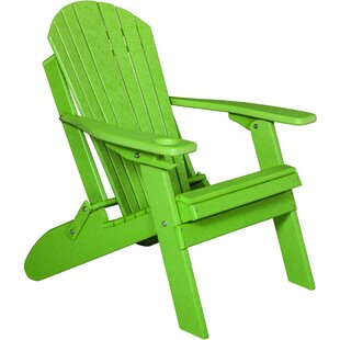 Mcgregor Plastic Folding Adirondack Chair