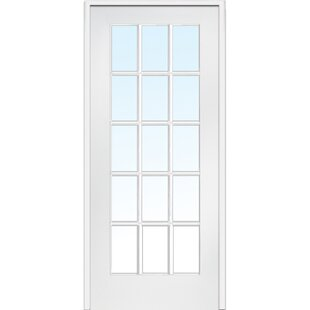 Clear Glass French Doors With Installation Hardware Kit