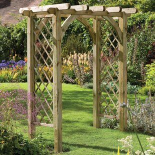 Ultima Pergola Arch. By Forest Garden