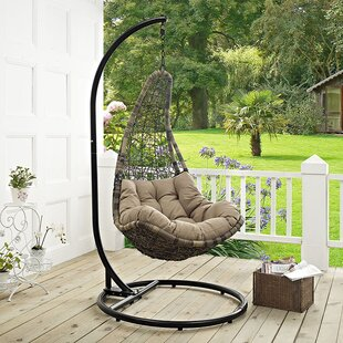 Gemmenne Swing Chair with Stand by World Menagerie