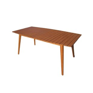 Shipton Solid Wood Dining Table By Sol 72 Outdoor