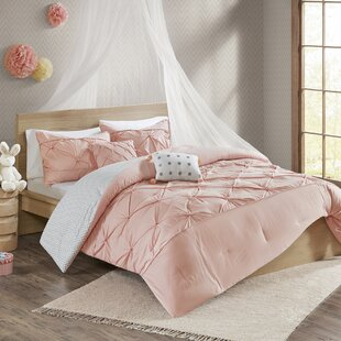 Claireville Cotton Reversible Duvet Cover Set
