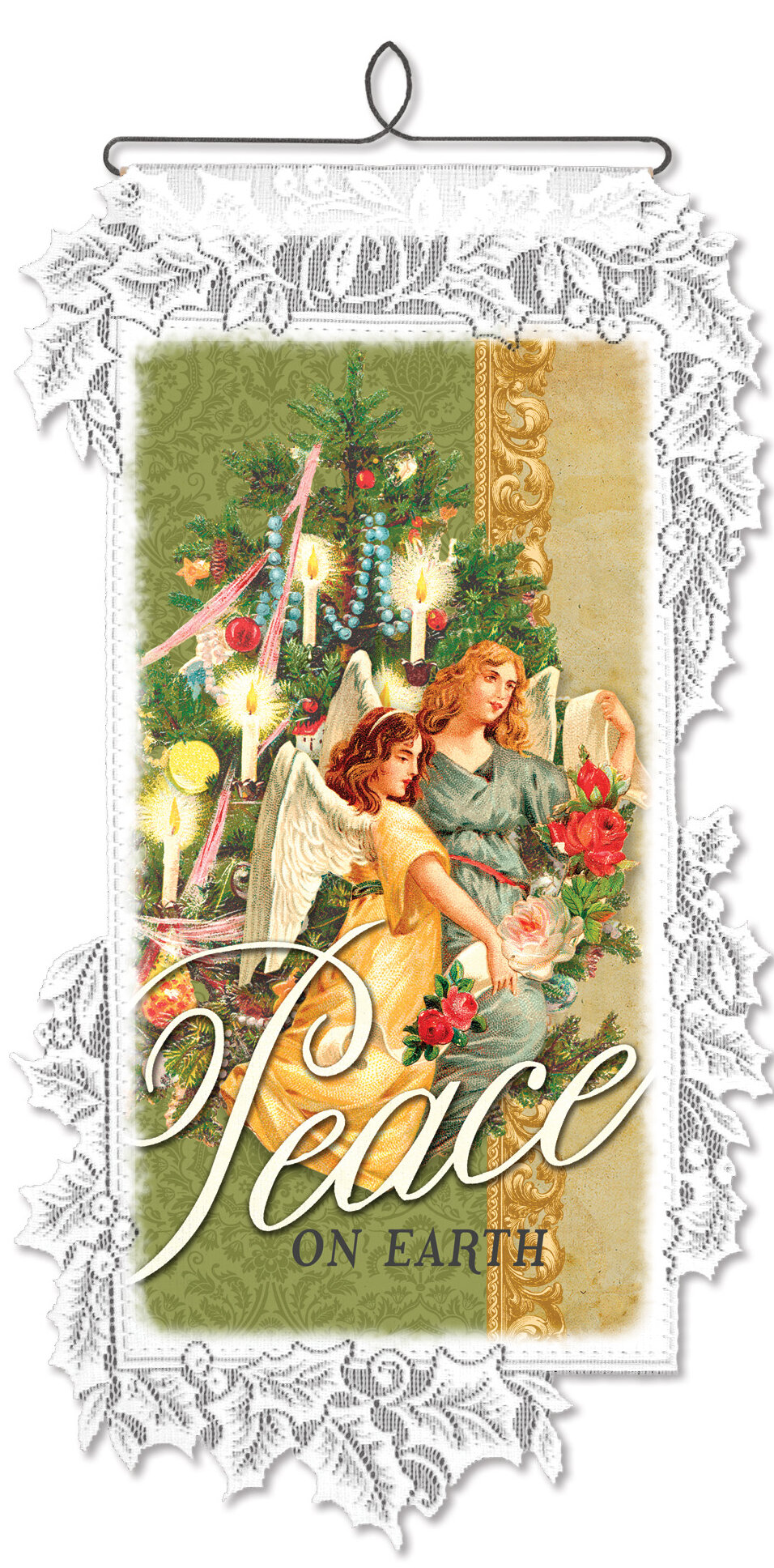 Heritage Lace Victorian Angels Wall Decor | Wayfair