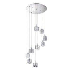 Kendal Lighting Lustra 9-Light Pendant