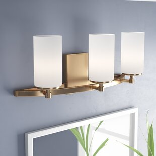 Order Haworth 3-Light Drum/Cylinder Shade Vanity Light By Wade Logan