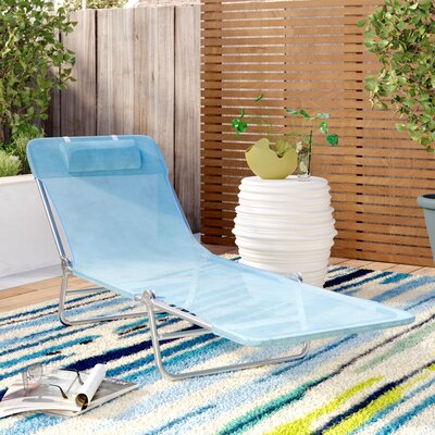 Blue Outdoor Chaise Amp Lounge Chairs You Ll Love In 2019