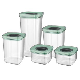 Leo 5 Piece Smart Seal Food Storage Container Set