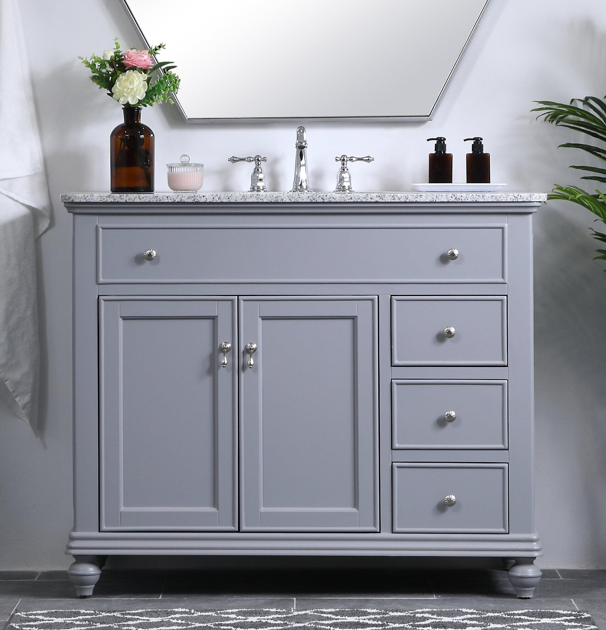 """Daenerys 5"""" Single Bathroom Vanity Set"""